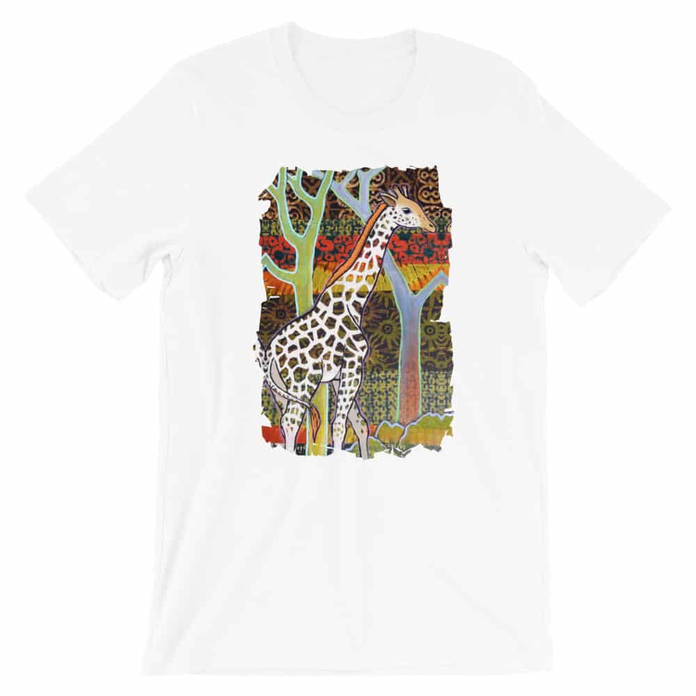 'West African Giraffe' Limited Edition tee 1